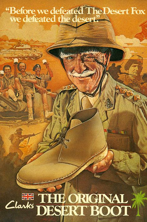Clarks Shoes Advert